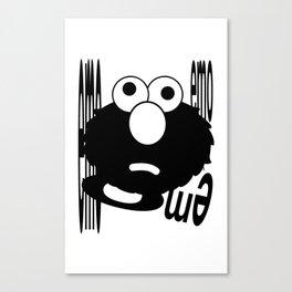 Emo Elmo Canvas Print