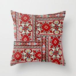 traditional bulgarian embrodeiry _1 Throw Pillow
