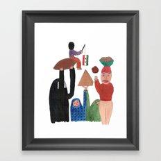 Kibinho. Framed Art Print