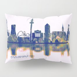 Duisburg Skyline Pillow Sham