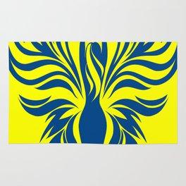 Aura Wings (Maize & Blue) Rug