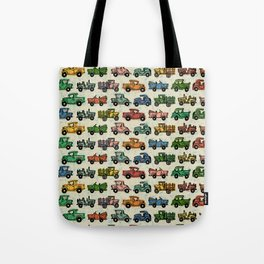 Cars and Trucks Tote Bag