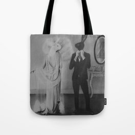 first step of the dance Tote Bag