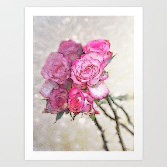 Reflected Beauty Art Print