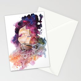 Space Ship Stationery Cards