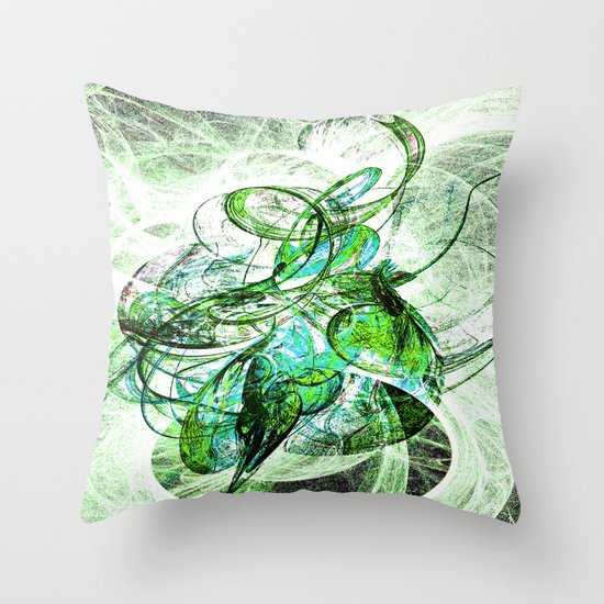And Blow The Cold Winter Away Throw Pillow