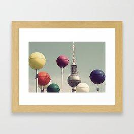 Kugeln no.2 Framed Art Print