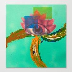 Third eye (lotus) Canvas Print