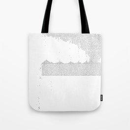 Erosion & Typography 3 Tote Bag