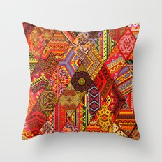 Indian Orgy Throw Pillow