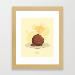 Baby Coffee Framed Art Print