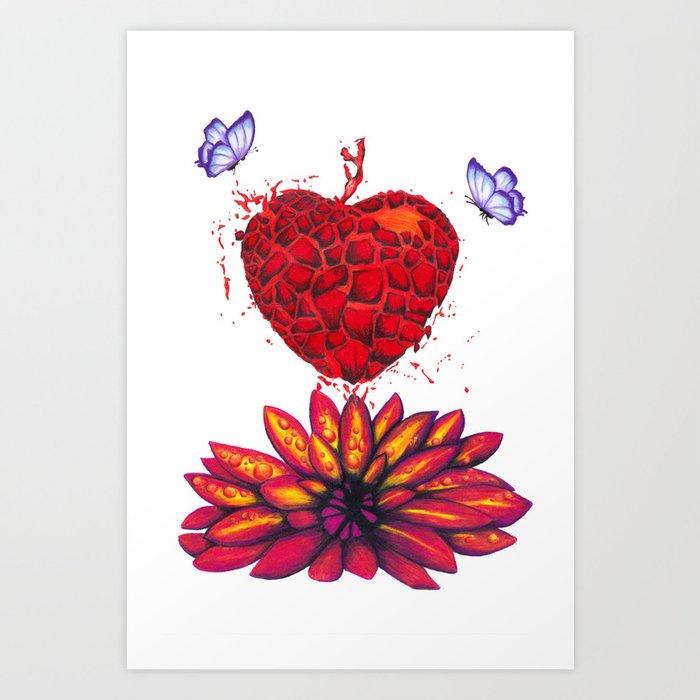 Find your Flower Art Print