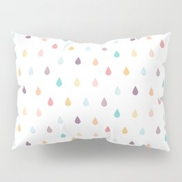 colorful rain Pillow Sham
