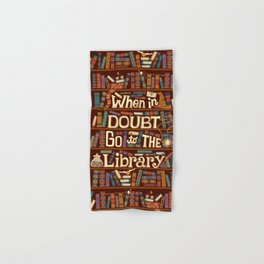 Go to the library Hand & Bath Towel