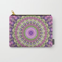 Vibrant Fractal Kaleidoscope 2 Carry-All Pouch