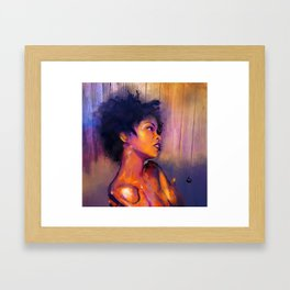 MsEducated Framed Art Print