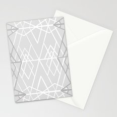 Geometric Sketches 1X Stationery Cards