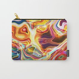 Abstract Glow Carry-All Pouch