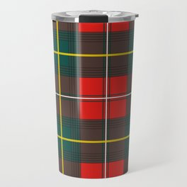 Minimalist Boyd Tartan Modern Travel Mug