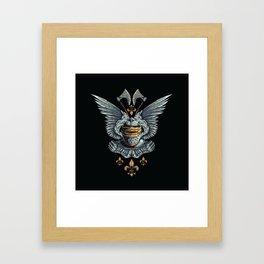 Eternal Knight Framed Art Print