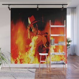 Portgas D. Ace Wall Mural