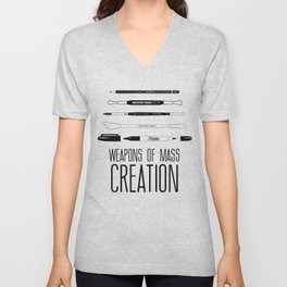 Weapons Of Mass Creation Unisex V-Neck