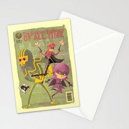 kick ass fan art 2 Stationery Cards