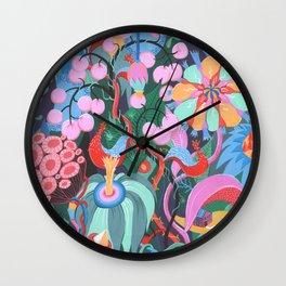 Hidden House Wall Clock