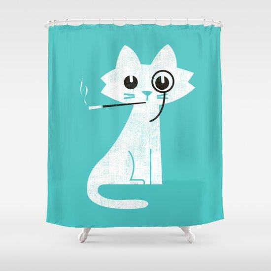 Mark - Aristo-Cat Shower Curtain