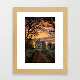 Lallybroch Framed Art Print