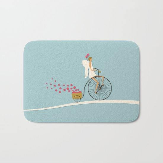 Love Delivery Bath Mat