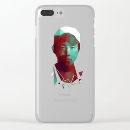 Glenn - The Walking Dead Clear iPhone Case