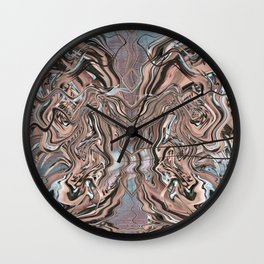 SLIPPERY ISM (A) Wall Clock
