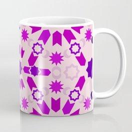 Purple Arabesque Coffee Mug
