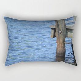 Down By The Dock Rectangular Pillow