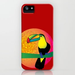 Toucan - Red iPhone Case