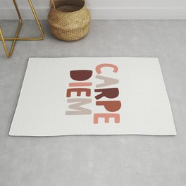 Carpe Diem Sieze the Day Rug