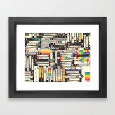 VHS Framed Art Print