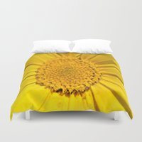 sunshine Duvet Covers featuring Sunshine by Louisa Catharine Photography