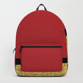 Red and Gold Backpack