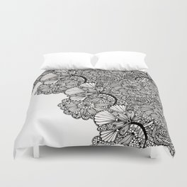 lace inspired Duvet Cover