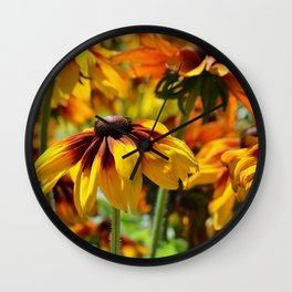 Flower meadow 128 Wall Clock