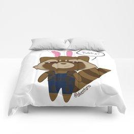 Rocket Raccoon Rabbit Comforters