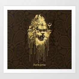 Crush The Demoniac Art Print
