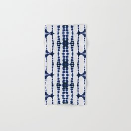 Boho Tie-Dye Knit Vertical Hand & Bath Towel