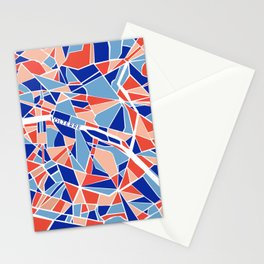 Paris Mosaic Map Stationery Cards