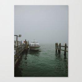 Venice Dock Canvas Print