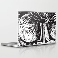 glasses Laptop & iPad Skins featuring Glasses by Stacy Nguyen