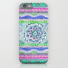 Aqua Bloom iPhone 6 Slim Case