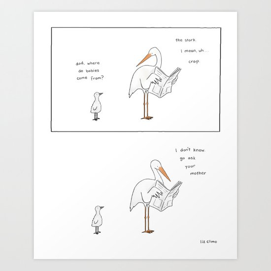 Go Ask Your Mother  Art Print